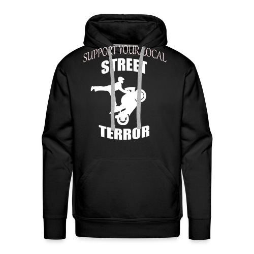 Streetterror Support - Miesten premium-huppari