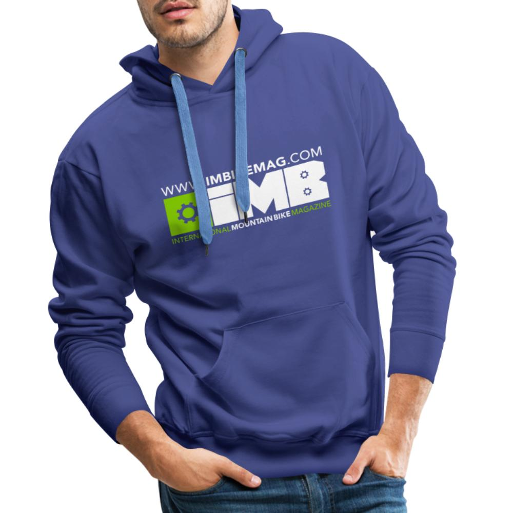 IMB Logo - Men's Premium Hoodie - royal blue