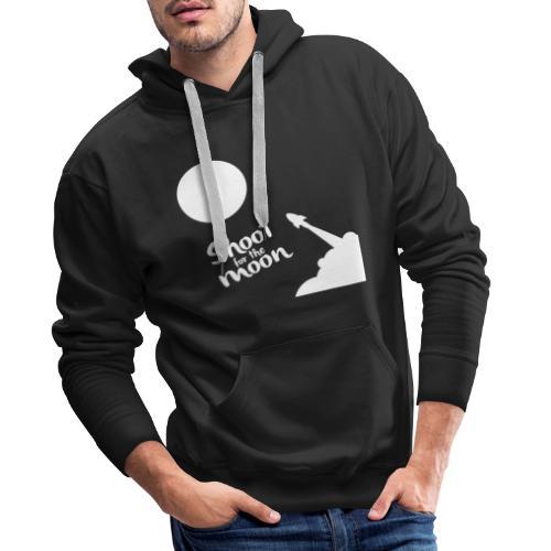 Shoot for the Moon - Men's Premium Hoodie
