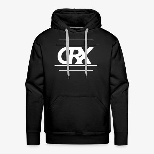 Chrix Logo weiß - Männer Premium Hoodie