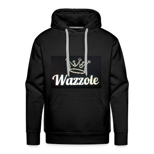 Wazzole crown range - Men's Premium Hoodie