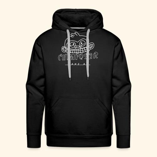 chimposer negative design - Mannen Premium hoodie