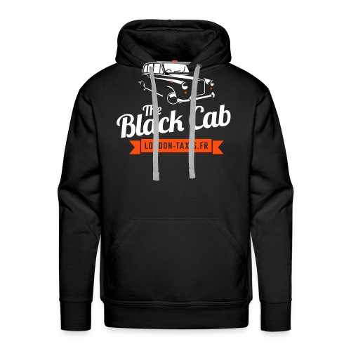 The Black Cab - Sweat-shirt à capuche Premium pour hommes