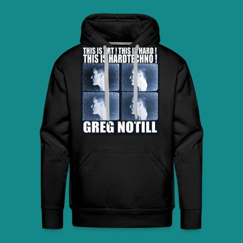 gregnotillbestteeshirtblue - Men's Premium Hoodie