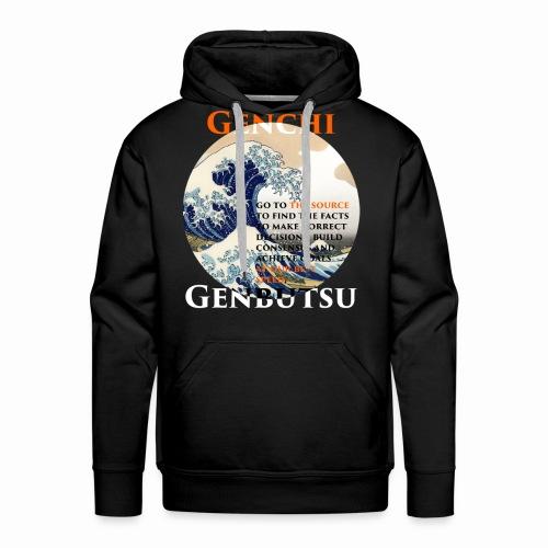 Genchi Genbutsu - Männer Premium Hoodie