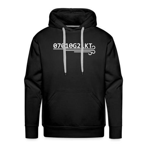 METAR CLOTHING - GUST 2 DRAWING - 07010G21 - Felpa con cappuccio premium da uomo