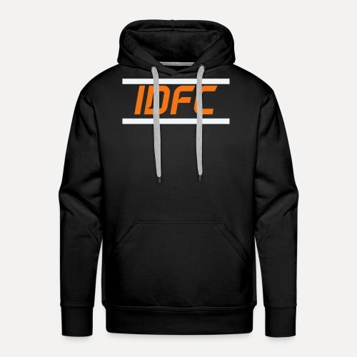 IDFC | Orange/White - Männer Premium Hoodie