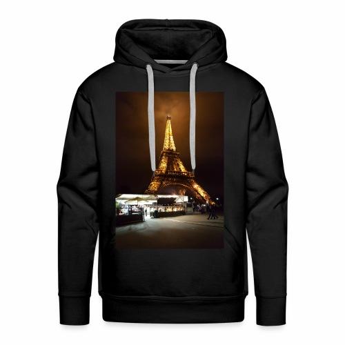 Paris- Eiffelturm - Männer Premium Hoodie