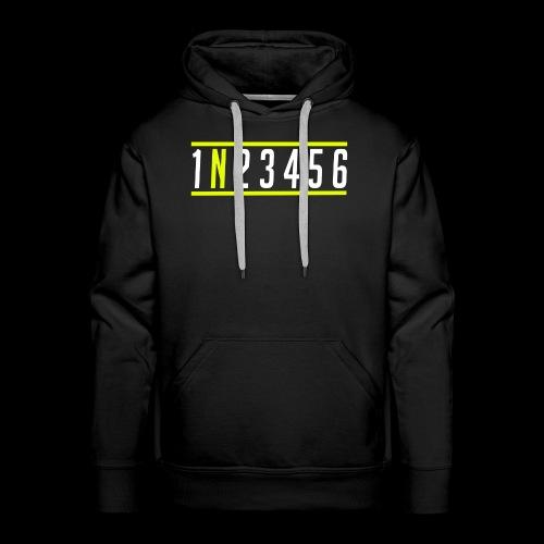 1N23456 - Männer Premium Hoodie