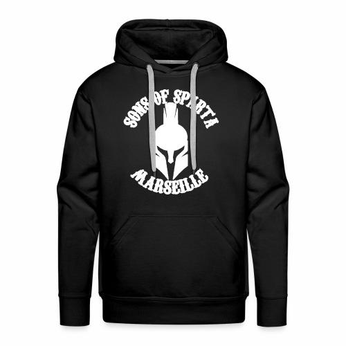 Sons of Sparta - Sweat-shirt à capuche Premium pour hommes