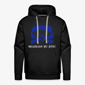 BJJ Blue Belt Clothing - Men's Premium Hoodie