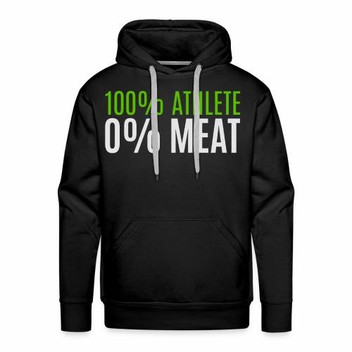 100% Athlete - Männer Premium Hoodie