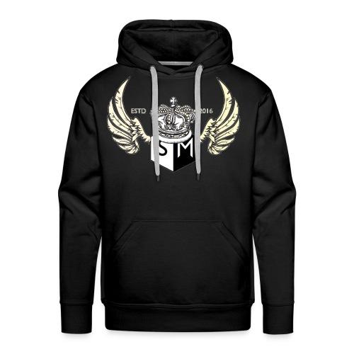 Supplemental sports wings logo design. - Men's Premium Hoodie