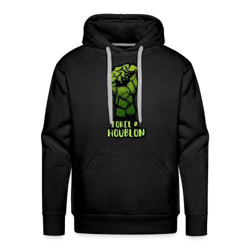 Force et houblon (Officiel) - Sweat-shirt à capuche Premium pour hommes