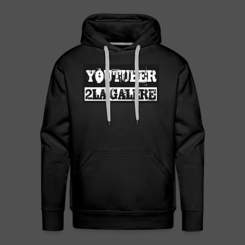 youtuber2lagalère - Sweat-shirt à capuche Premium pour hommes