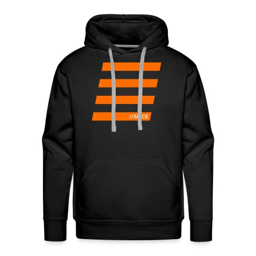 Orange Bars - Männer Premium Hoodie
