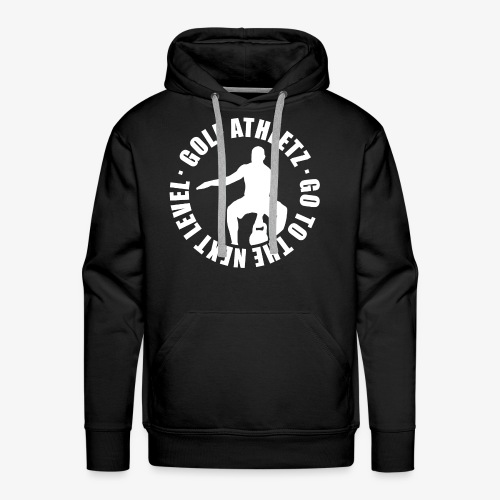 THE NEXT LEVEL - Kettlebell Trainings Sport Shirt - Männer Premium Hoodie