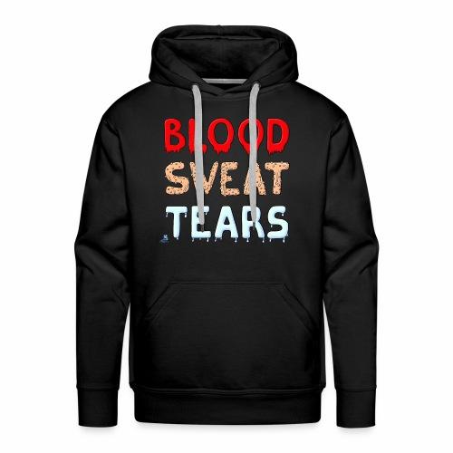 Blood-Sweat-Tears - Männer Premium Hoodie