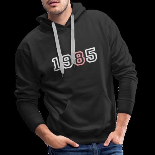 1985 - Sudadera con capucha premium para hombre