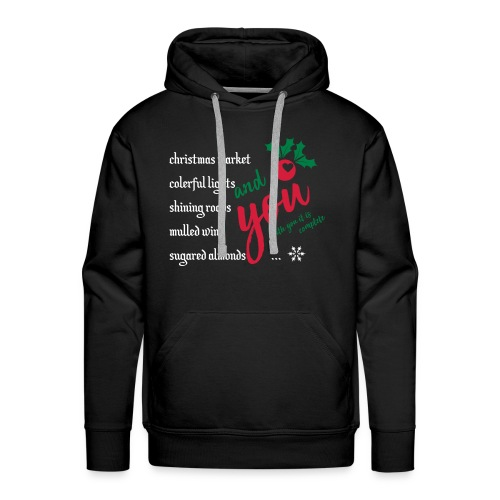 with you it is complete - Männer Premium Hoodie