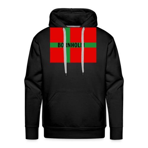 BORNHOLM - Herre Premium hættetrøje