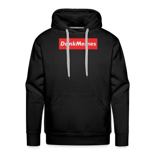 DankMemes Supreme Classic Logo - Men's Premium Hoodie