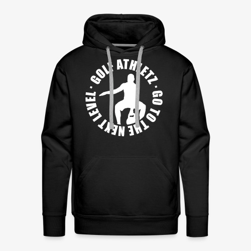 THE NEXT LEVEL - Kettlebell Trainings Sport Shirt - Männer Premium Hoodie