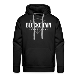 BLOCKCHAIN ​​ADDICTED - Men's Premium Hoodie