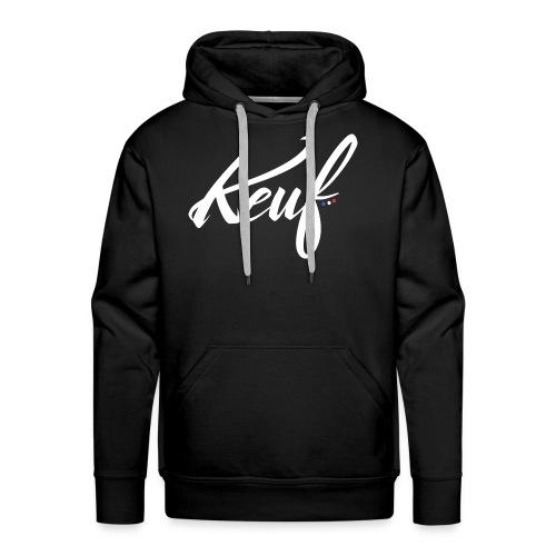 Script'keuf - Sweat-shirt à capuche Premium pour hommes
