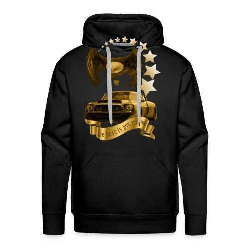 Das beste kommt noch gold - Männer Premium Hoodie