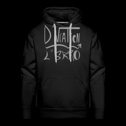 D viation L skro - Sweat-shirt à capuche Premium pour hommes