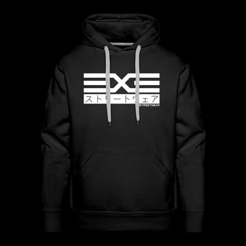 EXE Steetwear white - Männer Premium Hoodie