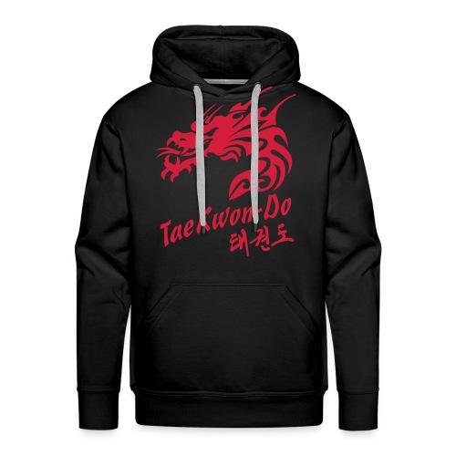 Taekwondo Dragon - Men's Premium Hoodie