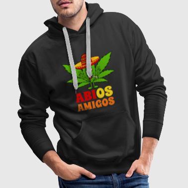 ABIOS Amigos Haschkottchen med sombrero - Premiumluvtröja herr