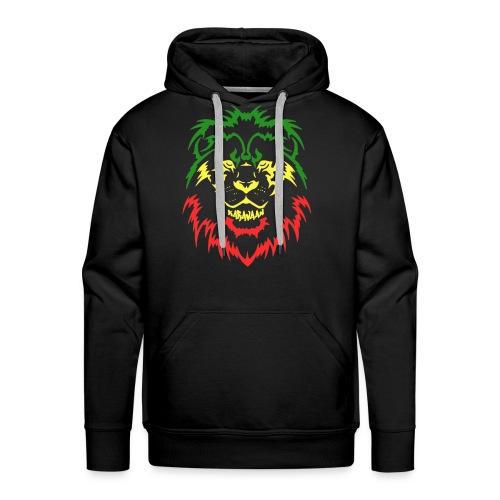 KARAVAAN Lion Reggae - Mannen Premium hoodie