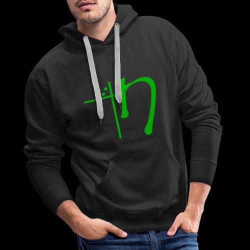 Nekyia LOGO Green - Men's Premium Hoodie