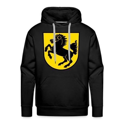 Stuttgart Wappen Feinstaub-Rössle - Männer Premium Hoodie
