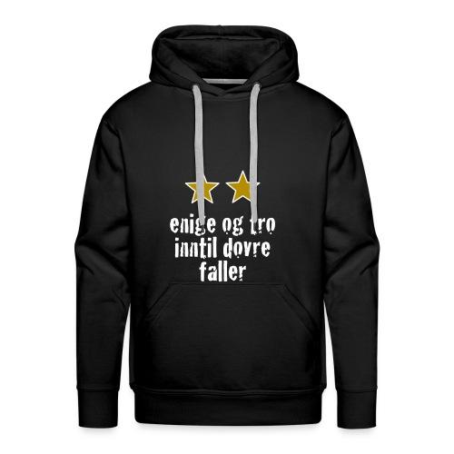 Inntil Dovre Faller - Premium hettegenser for menn