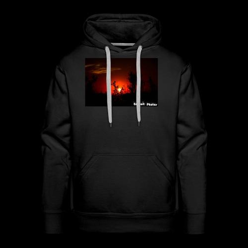 Sonnenuntergang Silhouette - Männer Premium Hoodie