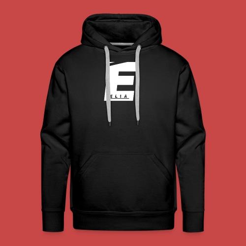 Elia Logo - Weiß - Männer Premium Hoodie