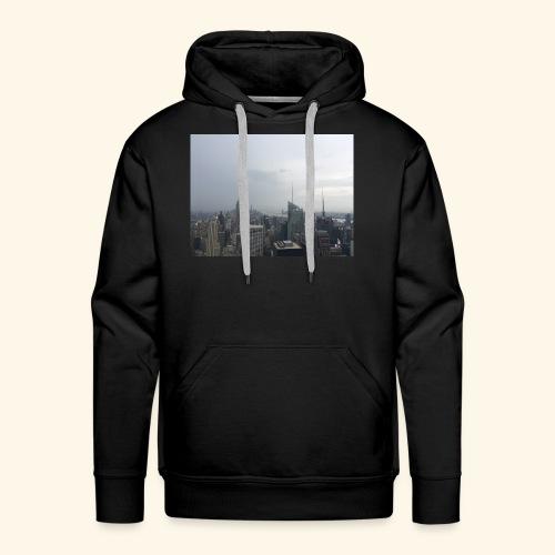 New York City view - Männer Premium Hoodie