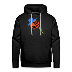 Eat dollar BY BITCOIN - Mannen Premium hoodie