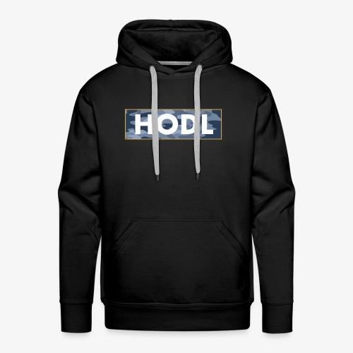 Camo Hodl Tee - Men's Premium Hoodie