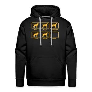 Für alle Hundebesitzer mit Humor - Männer Premium Hoodie