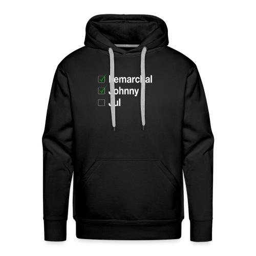 Check list Johnny Jul - Sweat-shirt à capuche Premium pour hommes