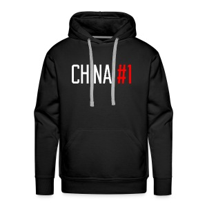 China #1 (White) - Men's Premium Hoodie