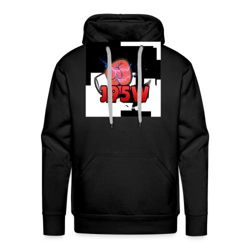 J95W Boxing Smash Design - Men's Premium Hoodie