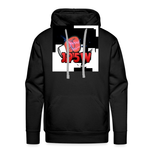 J95W Boxing Smash Design - Men's Premium Hoodie