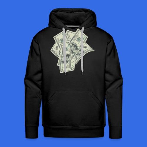 more money - Men's Premium Hoodie
