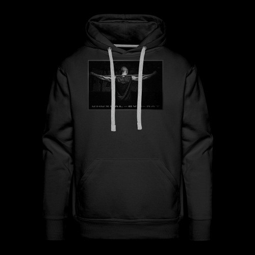Unusual-Gym-Rat Gun Black - Männer Premium Hoodie